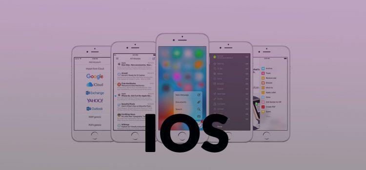 تنظیمات ایمیل در گوشی آیفون